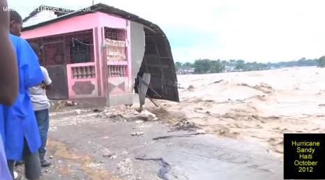 Hurricane Sandy on Haiti