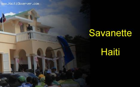 The Town of Savanette, Haiti