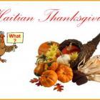 Haitian Thanksgiving